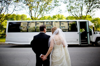 Wedding bus rentals
