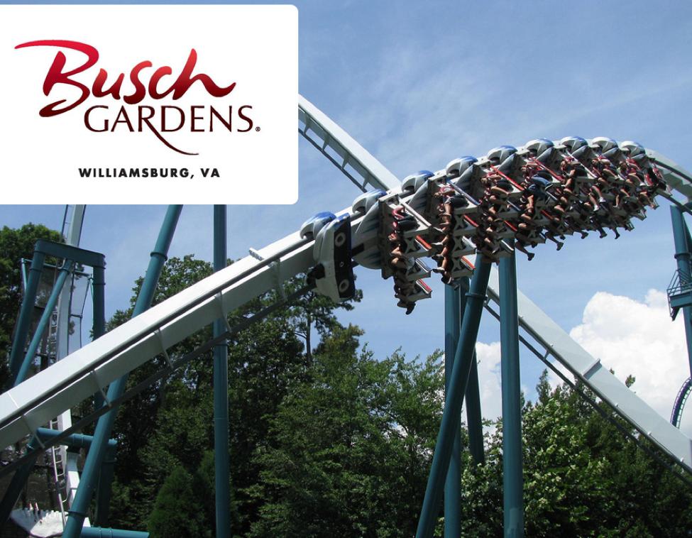 Busch Gardens Williamsburg from Virginia Beach