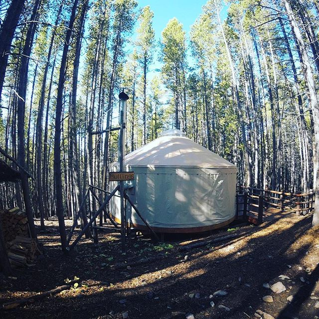 Check out my latest travel article in My Itchy Travel Feet about these yurts and backcountry restaurant. They were unbelievable and the whole experience was off the grid. See profile for link. #glamping
