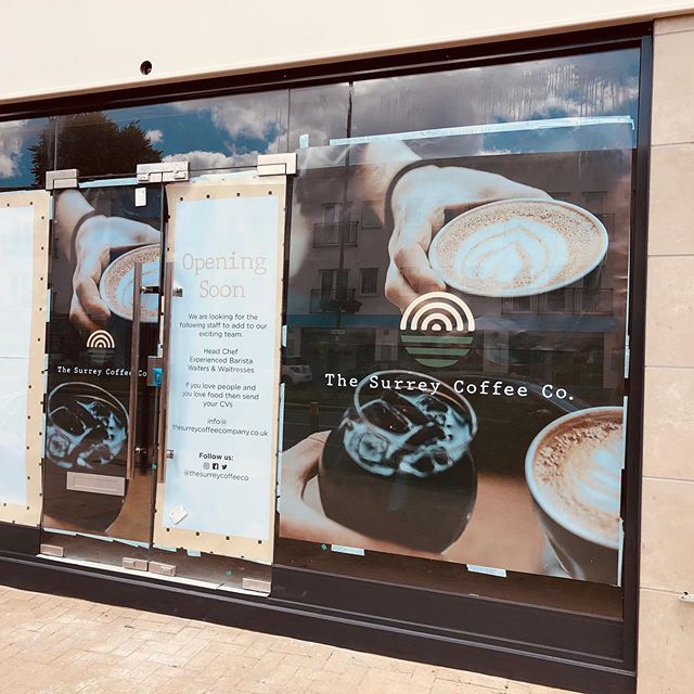#discoveryourtown #newcoffeeshop #exciting #waltononthames #eatlocal #openingsoon #surreycoffee