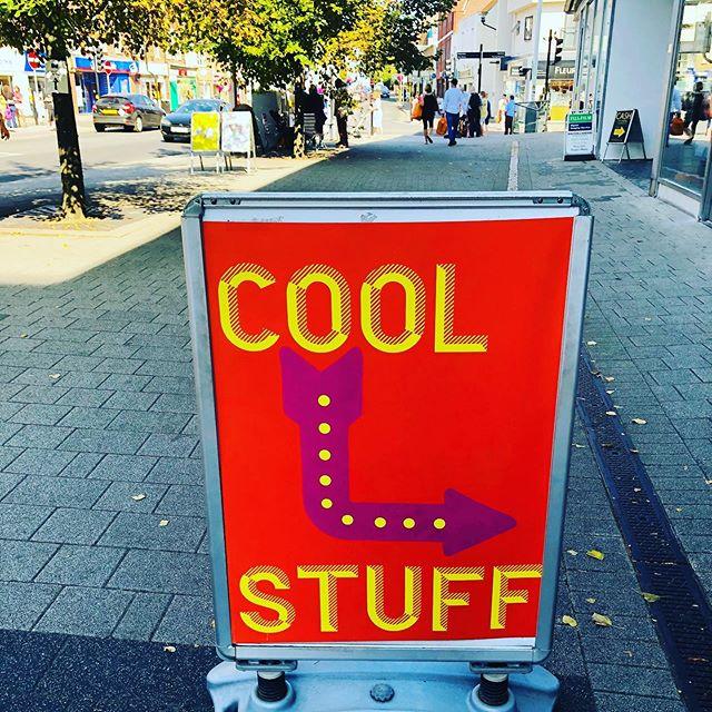 #coolstuff #waltononthames #mercado #funkysign #discoveryourtown