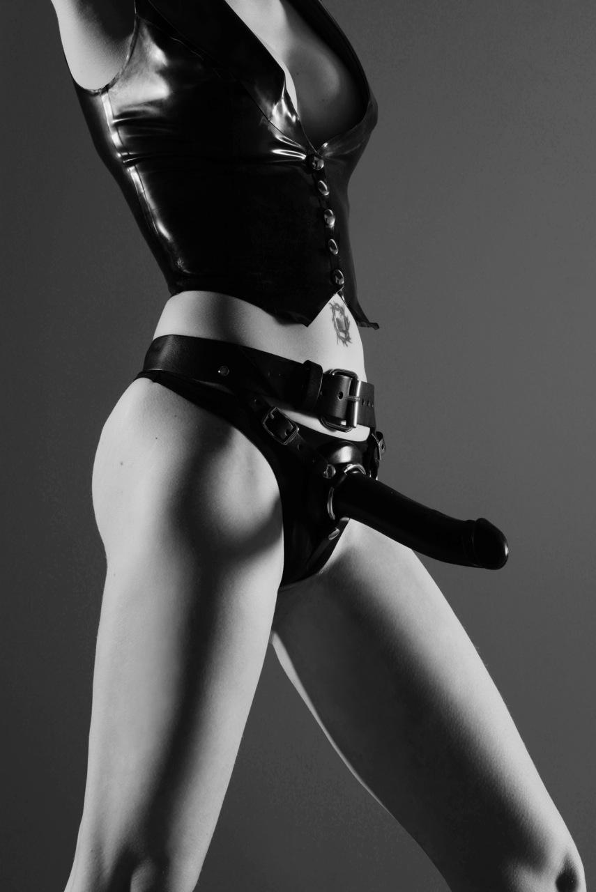 Mistress Victoria's favorite strap-on.