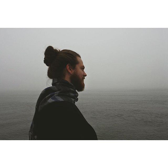 Hudson haze. #manbunmonday