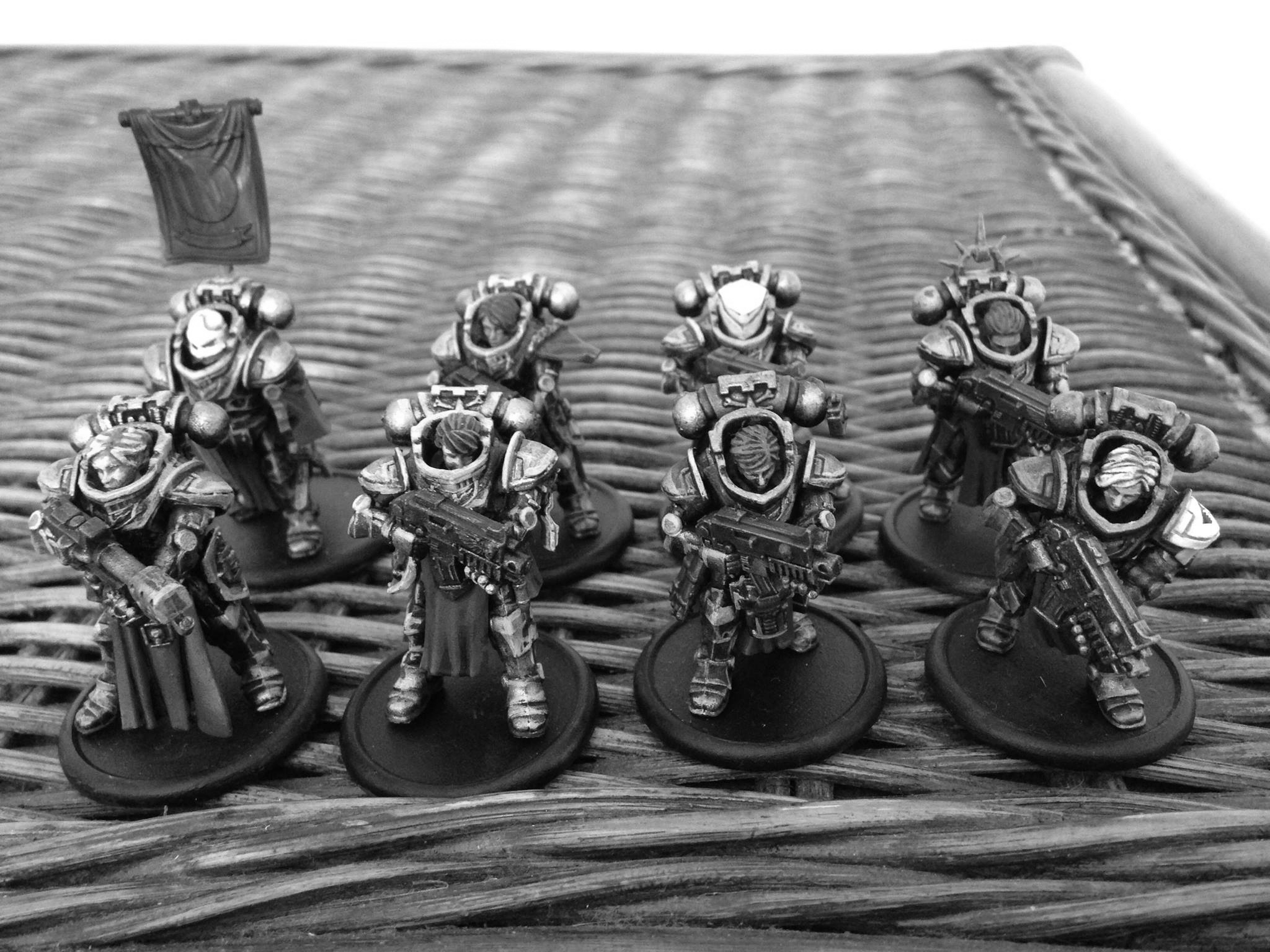 I'm really into tabletop and boardgames. Here's a small part of my custom Sisters of Battle force (Warhammer 40k). One of my goals for 2018 is to DM for a Dungeons & Dragons group.