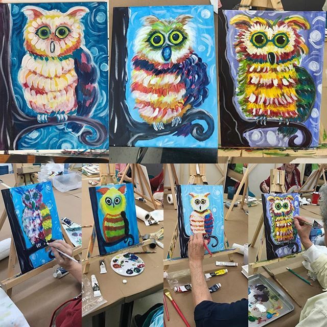 Look at all of these funky owls!!! 😍😍😍