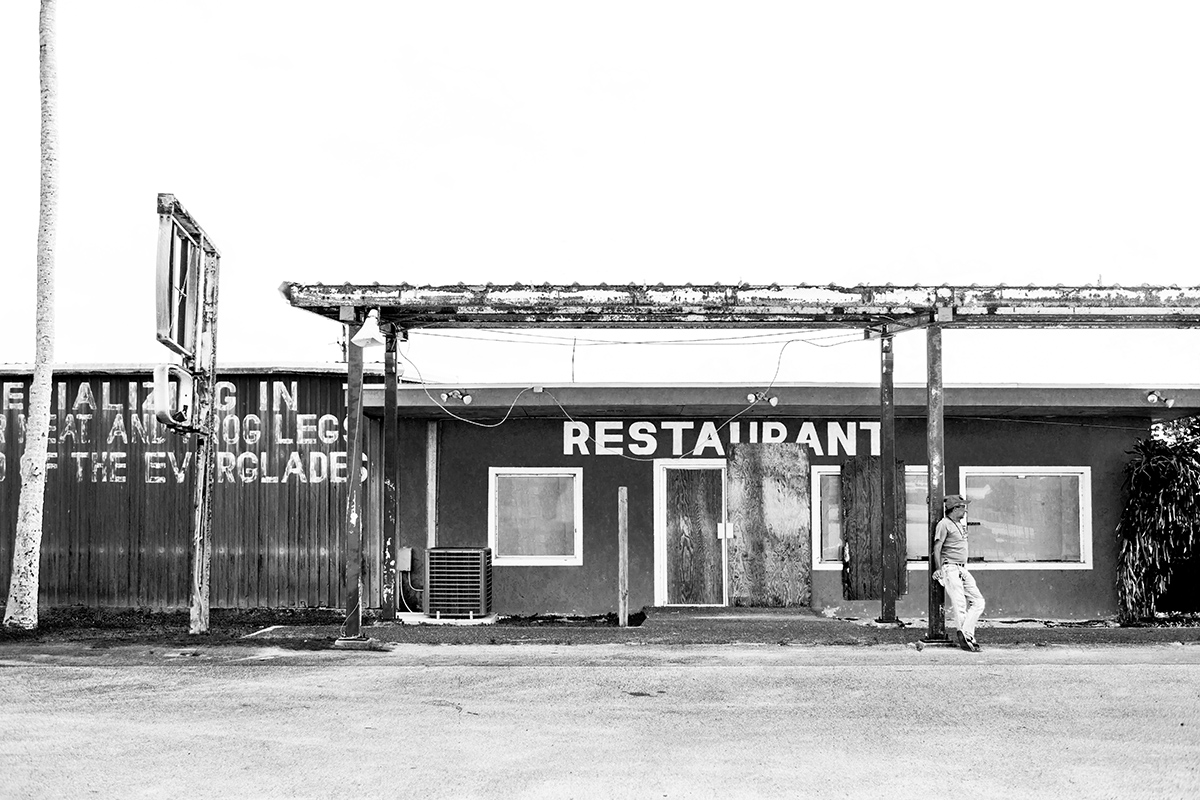Miccosukee Restaurant, Everglades, Florida, FL, USA by Leica Photographer Manuel Guerzoni