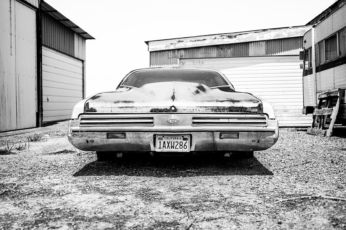 1973 Buick Riviera Vintage Car, Napa Valley, CA, California, USA, United States by Leica Photographer Manuel Guerzoni