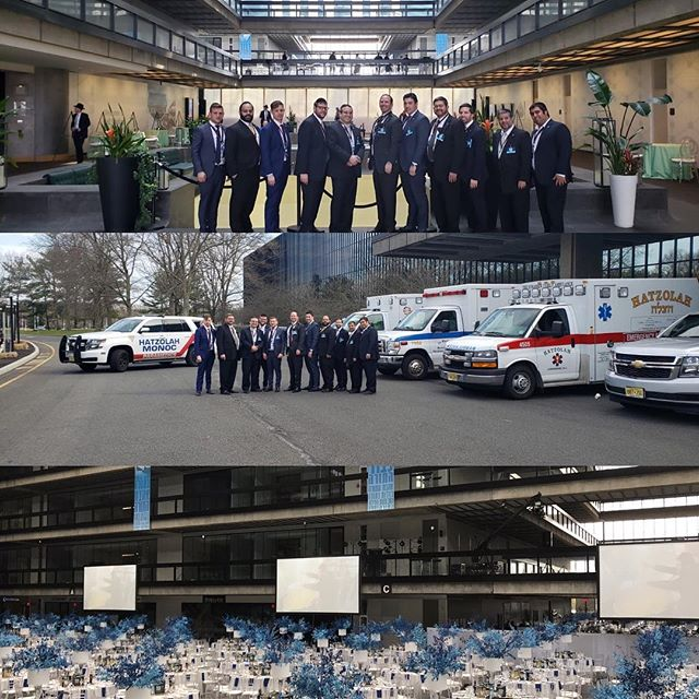Privileged once again to be providing medical support tonight at the Mir Dinner at Bell Works. 5,000+ people expected to arrive from all over the world.  #eventmedical