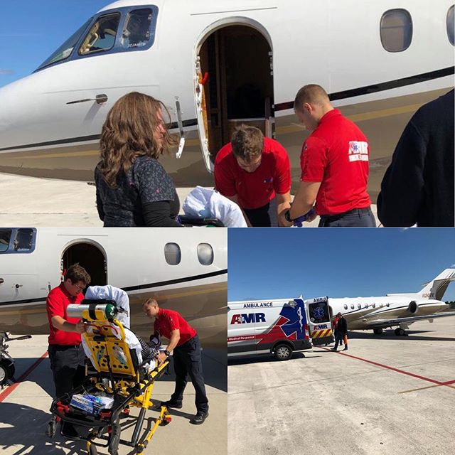Team 70 on the ground in South Florida.  When you need to get your family members back home for the holidays and you're facing some logistical challenges, we have some ideas.  844-538-1911 www.paraflight.aero @paraflight.aero