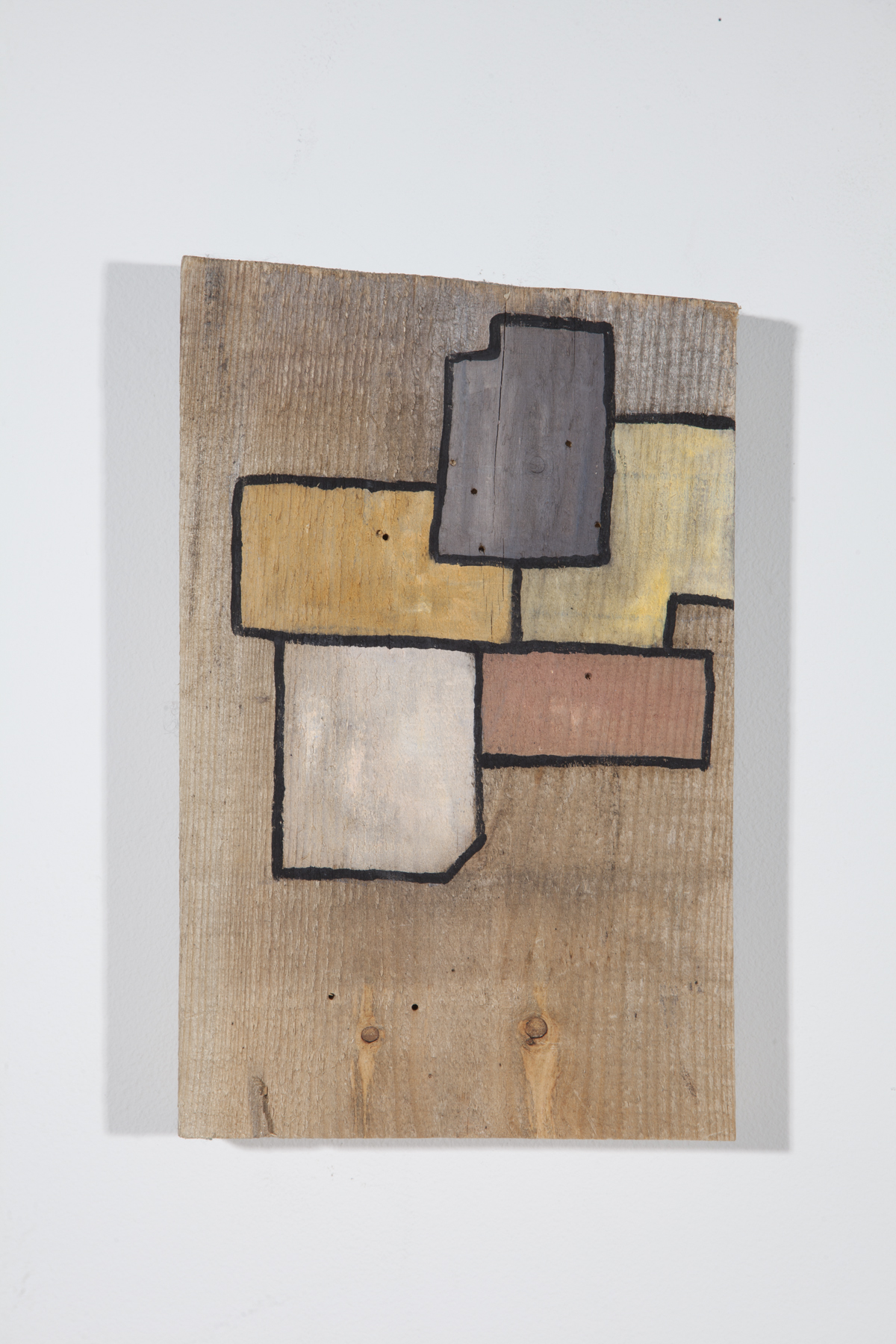 """oil and acrylic on wood, 13""""x 7""""x 2"""", 2015"""