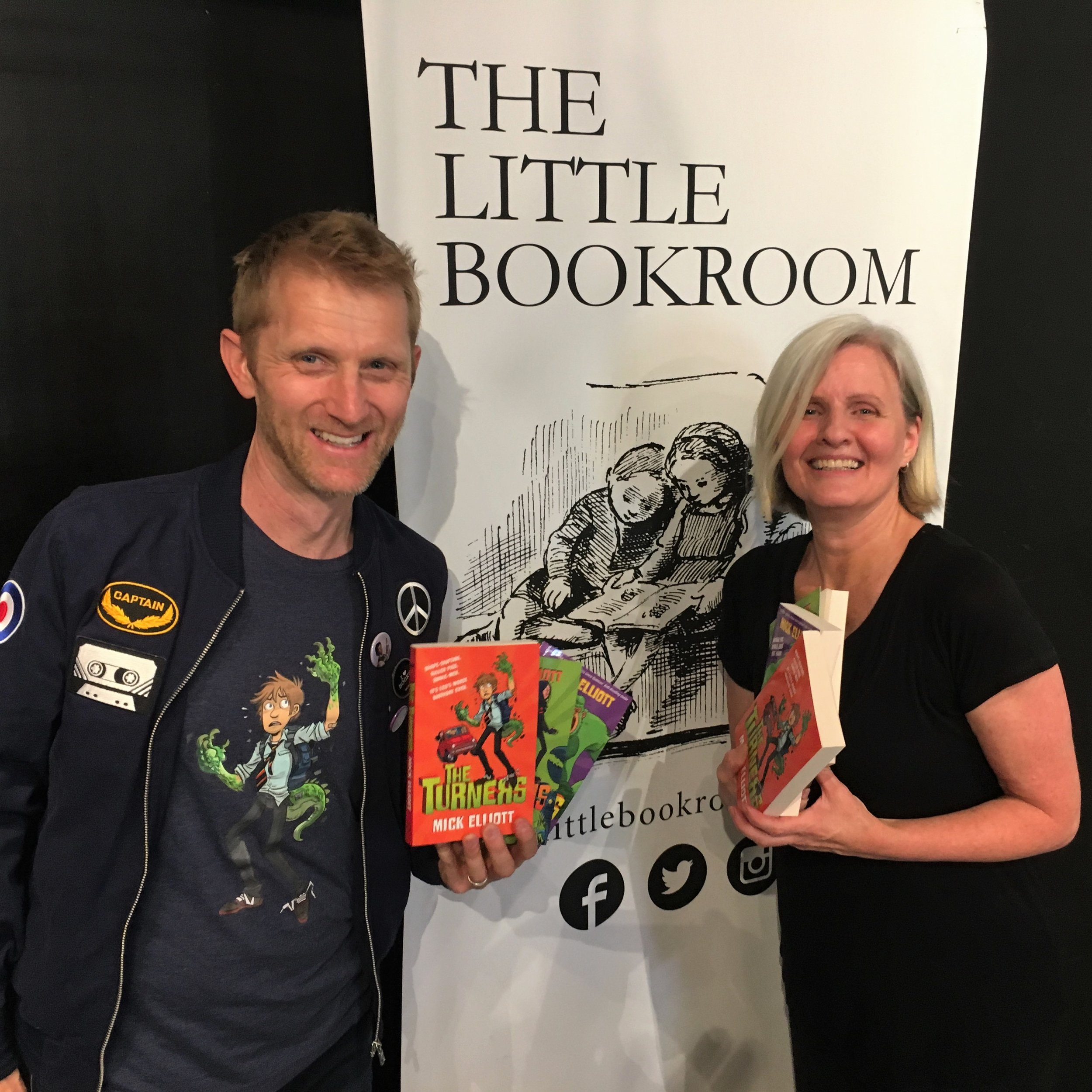 Booksellers do an incredible job promoting the work of local authors, and I was delighted to visit one of my favourites - THE LITTLE BOOKROOM in Melbourne, Victoria.