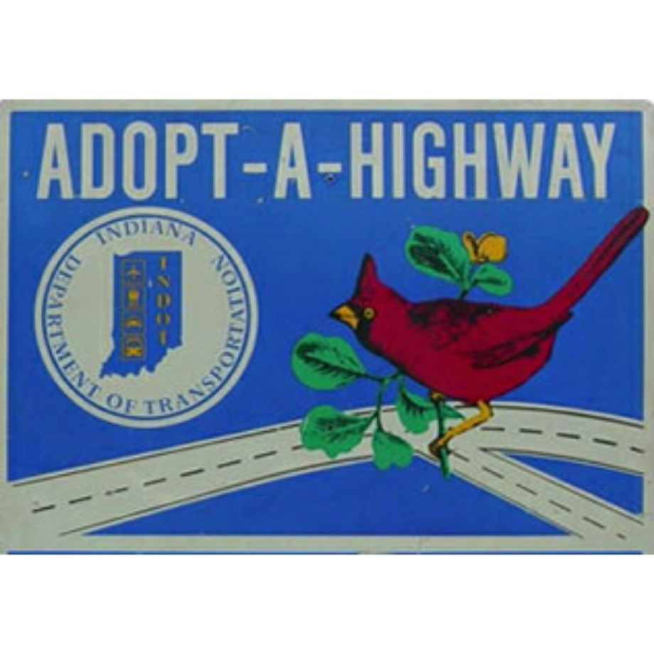 Adopt-A-Highway    We are responsible for the tidiness of a section of  State Route 1. You'll see us removing debris from the side of the road several times each year.