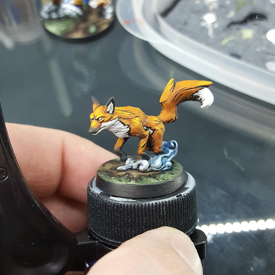 Shadow Fox - Work in Progress