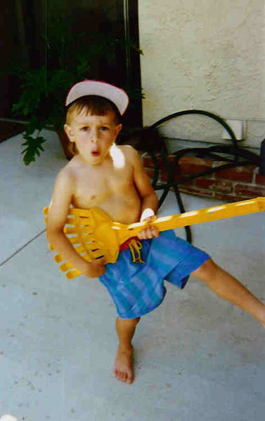 """""""It's funny cause I never seriously thought I'd learn to play guitar, I just loved to pretend..."""""""