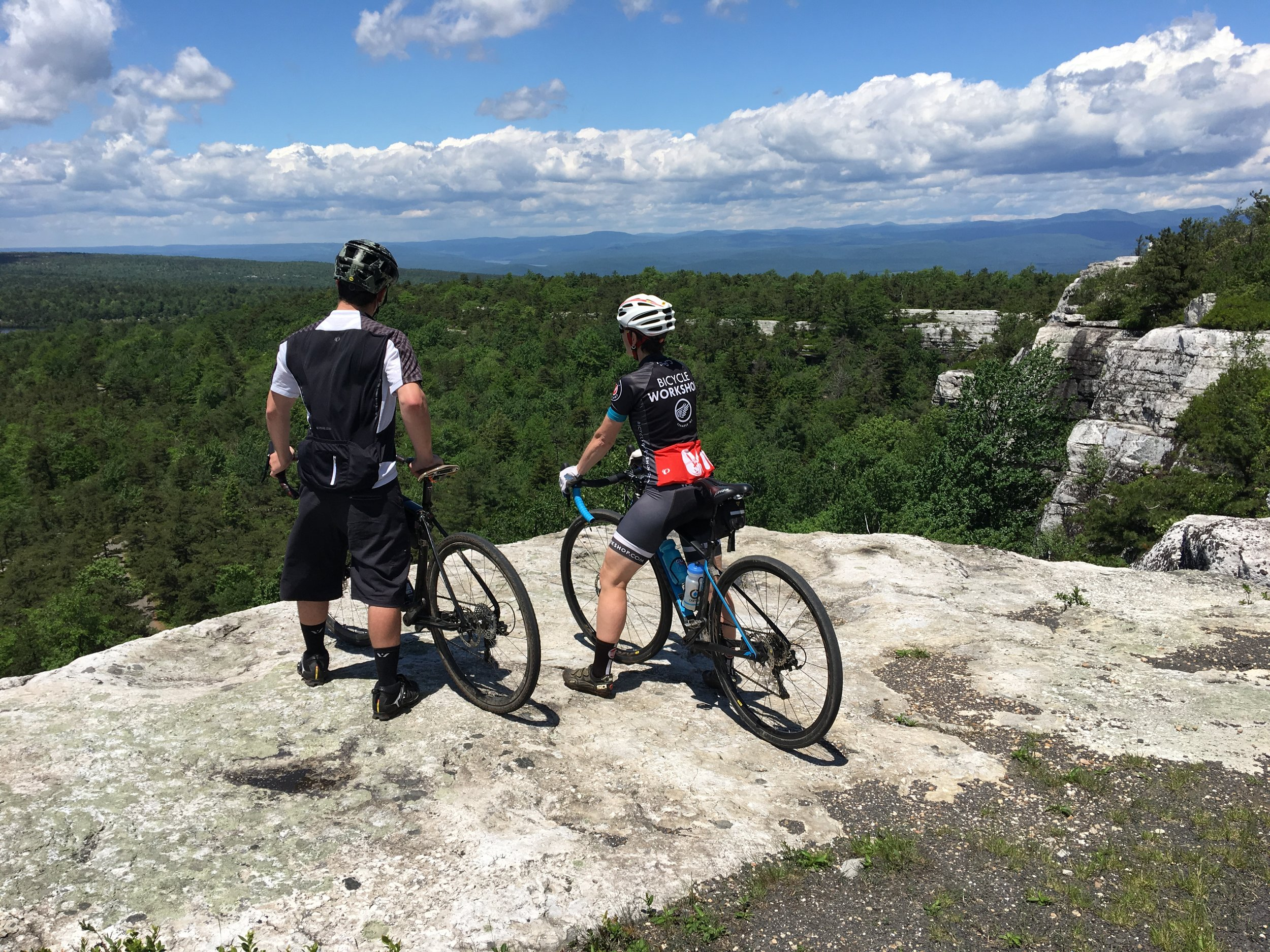 Lake Minnewaska gravel riding