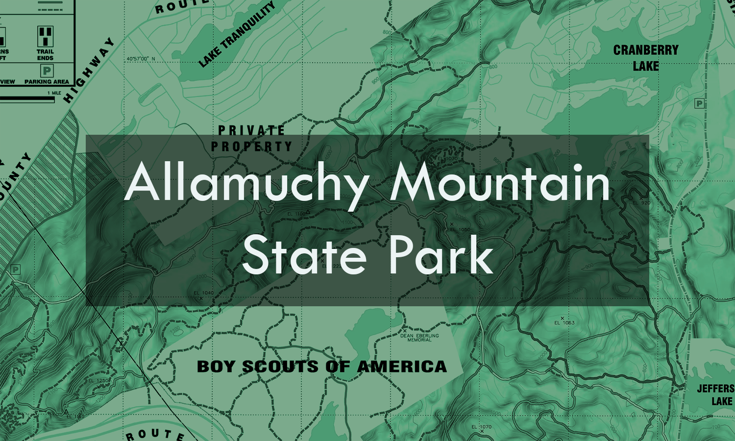 There are more than 14 miles of marked trails available for hiking, mountain biking and horseback riding in the Allamuchy Natural Area.