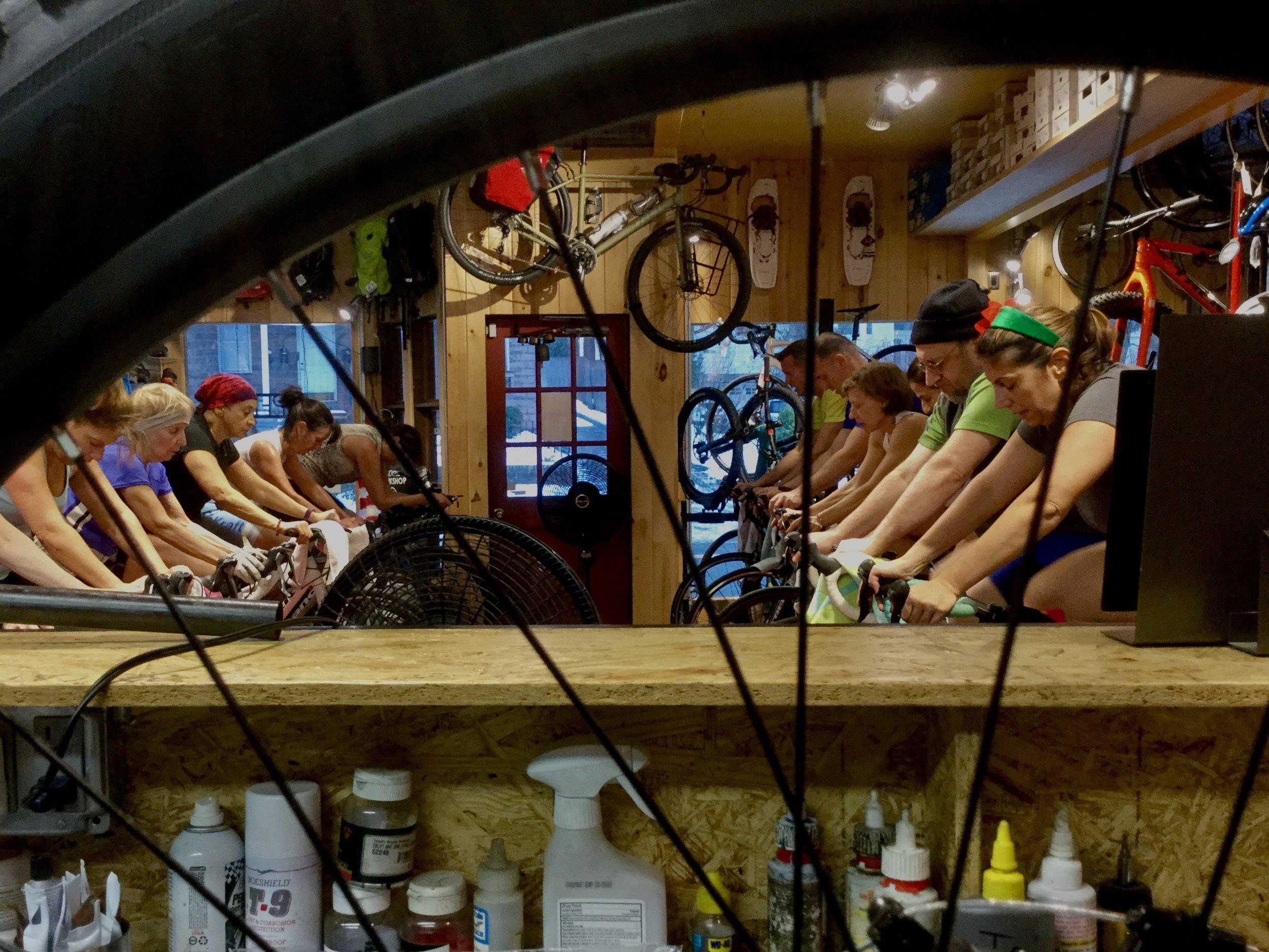Women's Mounatin Biking