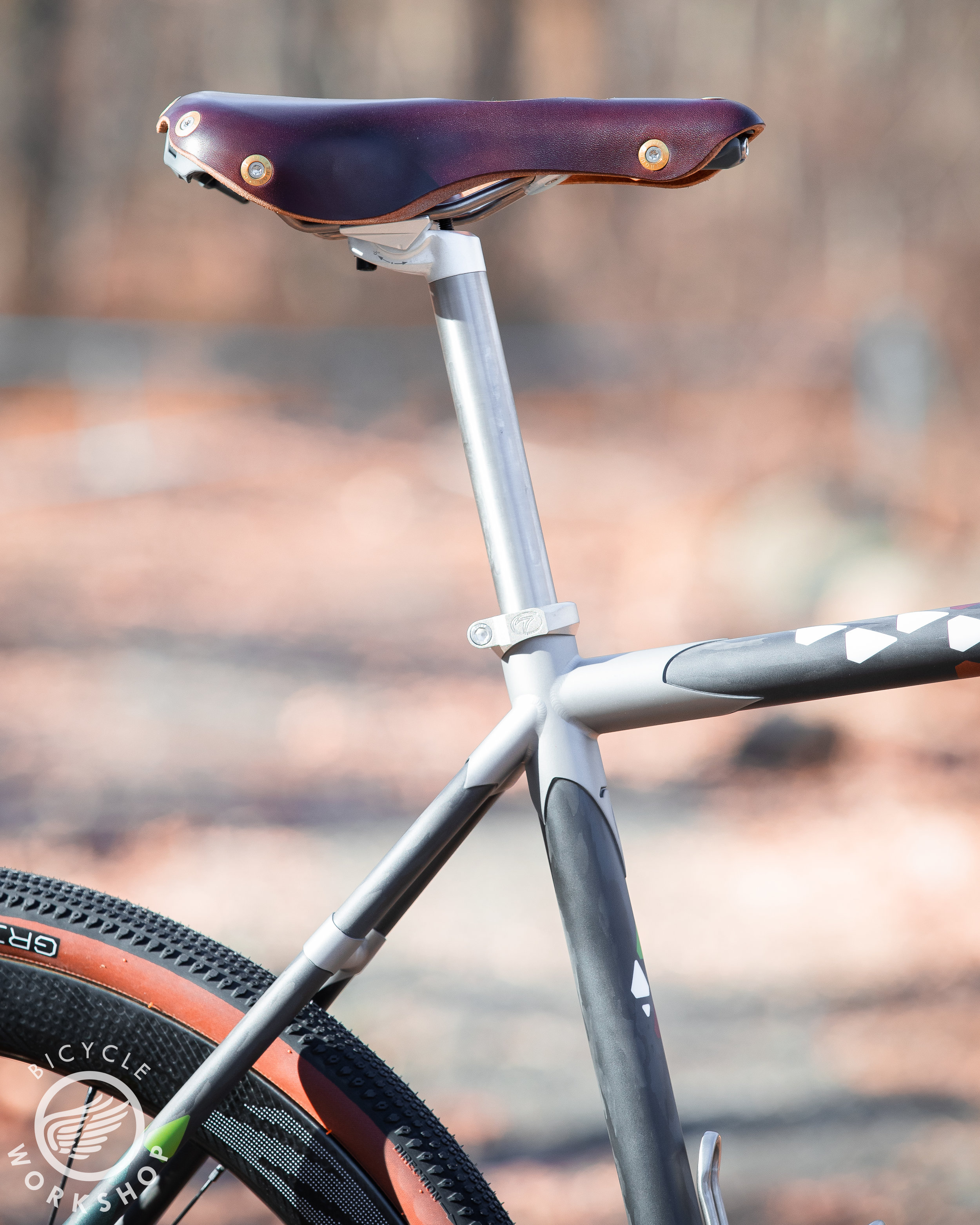 Berthoud saddle is comfy and elegant