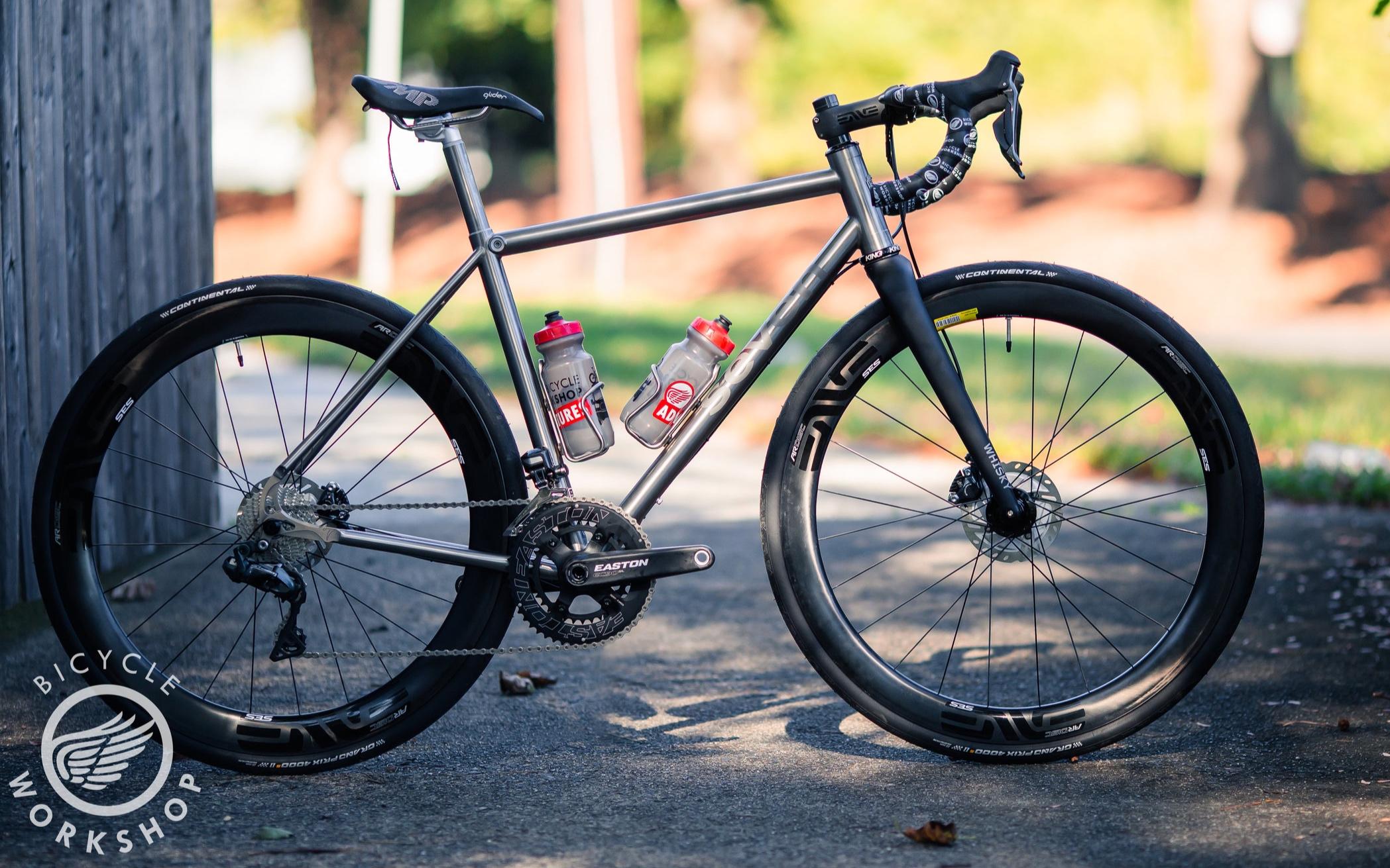 Seven Cycles Axiom SLX - Custom ultra-butted Titanium Road Bike