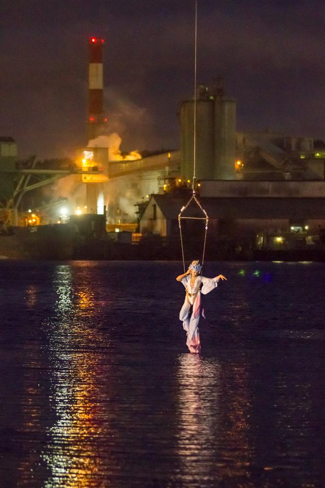 Duwamish Revealed Festival 2015 - Crane Performance