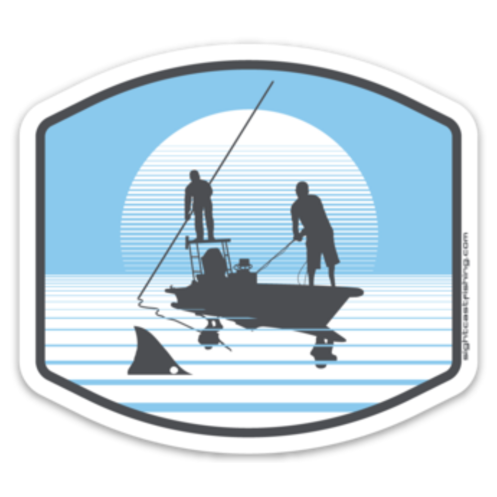 Kayak Fishing Stickers and Decals for Texas, Louisiana, Florida, and Gulf Coast regions. Kayak fisherman love to sight cast to redfish. Stickers for your kayak. Kayak fly fishing for redfish and speckled trout in Texas.