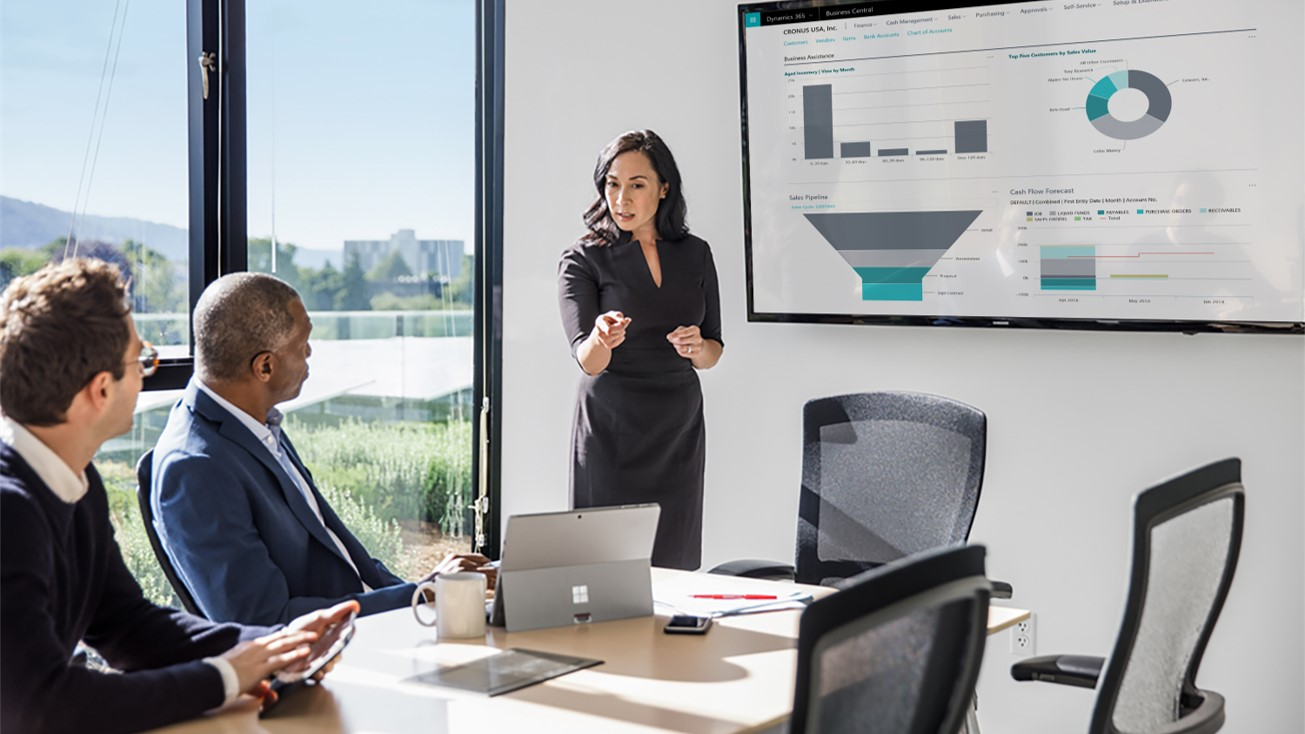 Microsoft Business Central Presentation