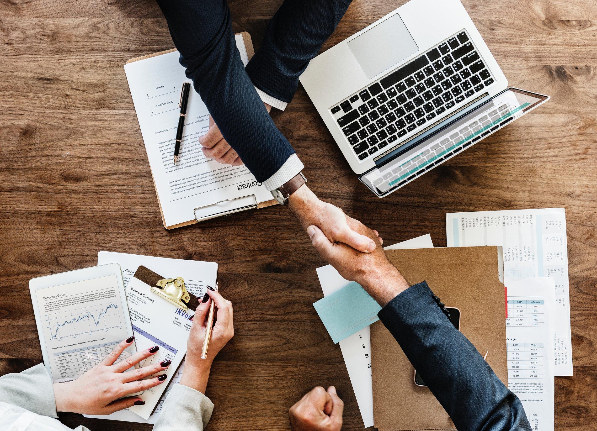 ERP Vendor Selection Handshake Partner