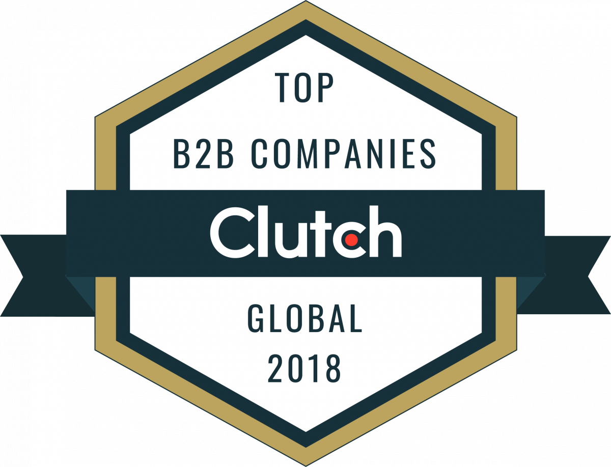 2018 Top IT Services COmpany Clutch Badge
