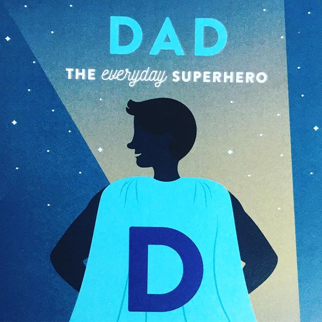 To all of our everyday superheroes, we love you!  Happy Father's Day!