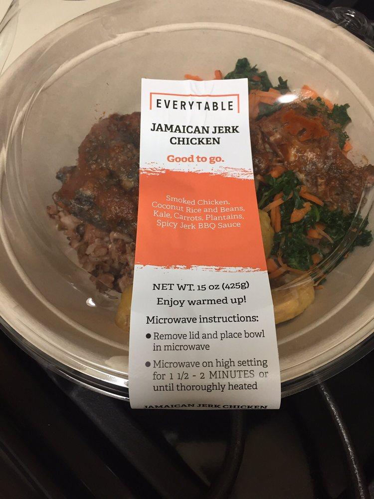 Jamaican Jerk Chicken Hot Plate