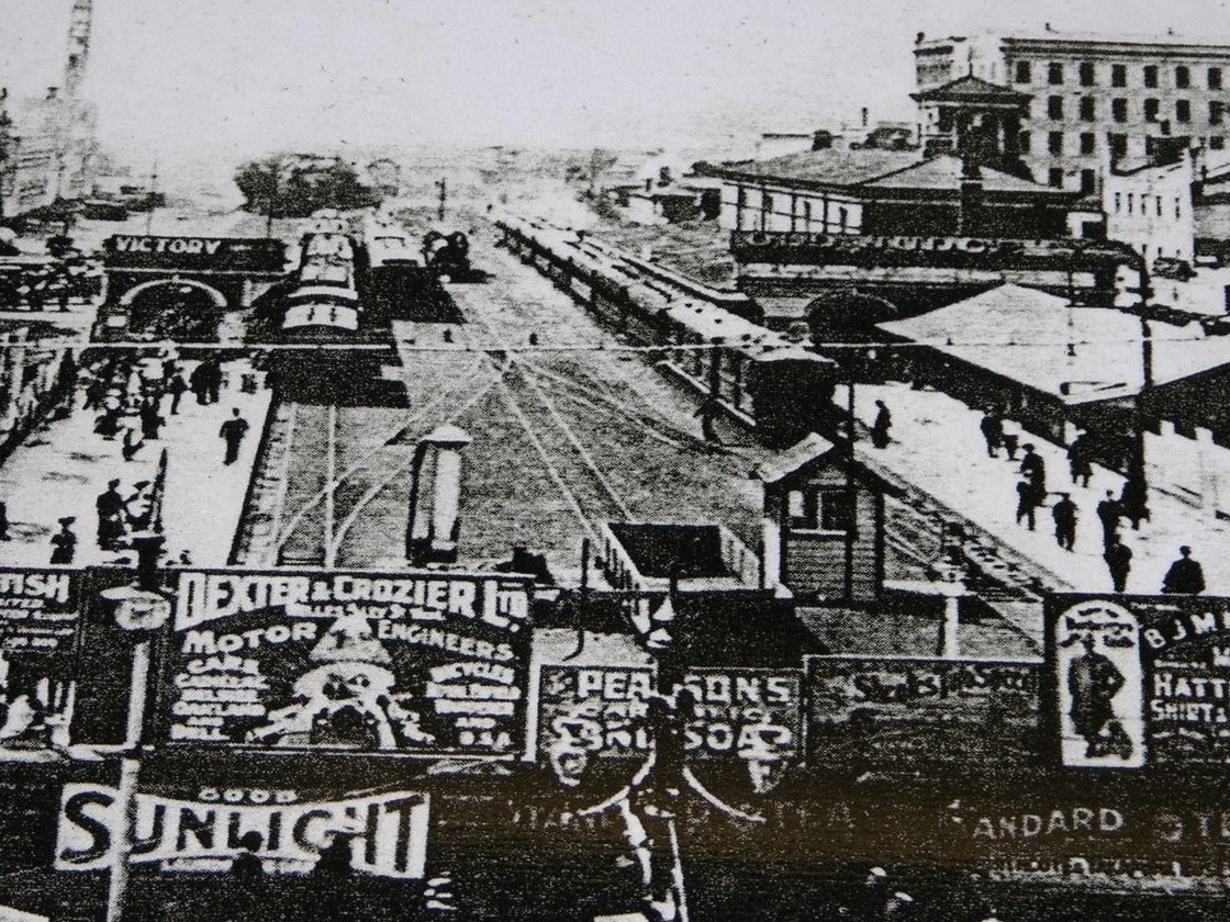 Auckland's first railway station, Britomart