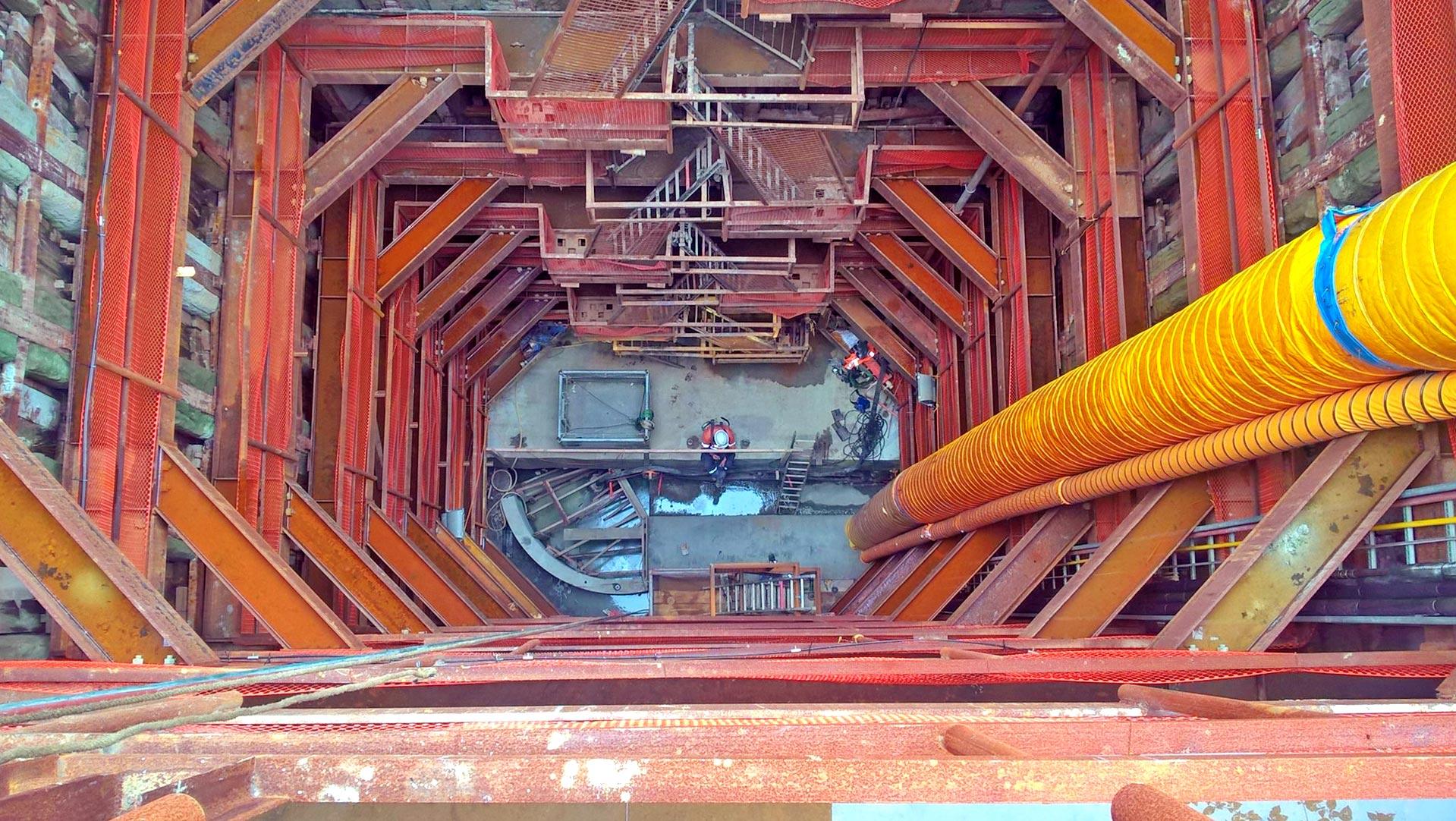 Victoria Street shaft