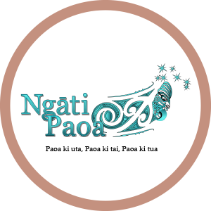 Logo of CRL Mana Whenua members Ngati Paoa