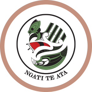 Logo of CRL Mana Whenua members Ngati Te Ata