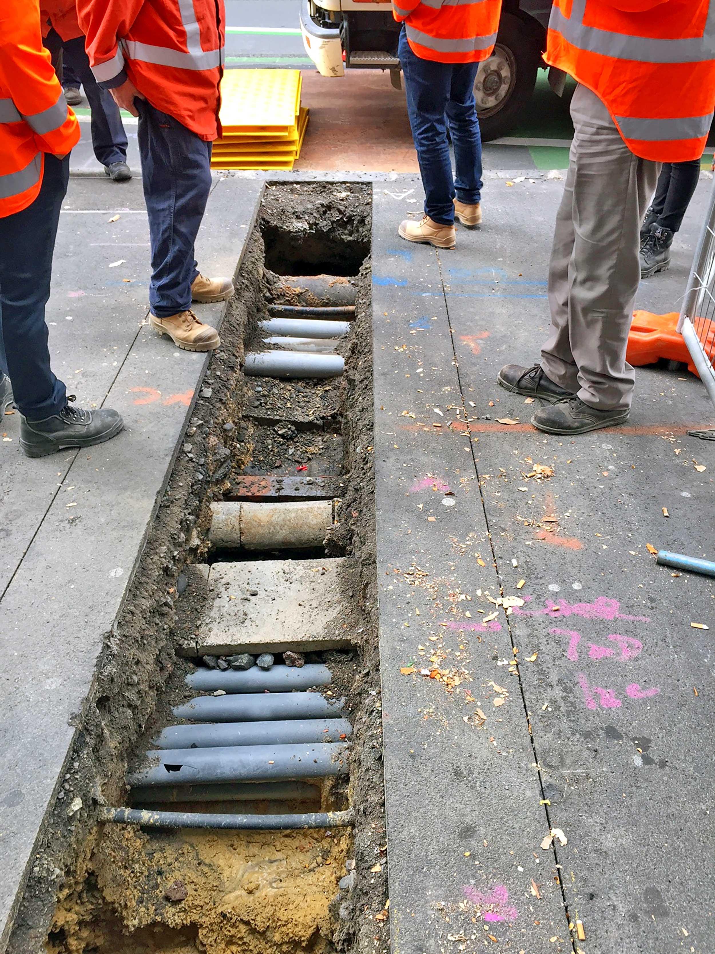 Checking what utilities are underground