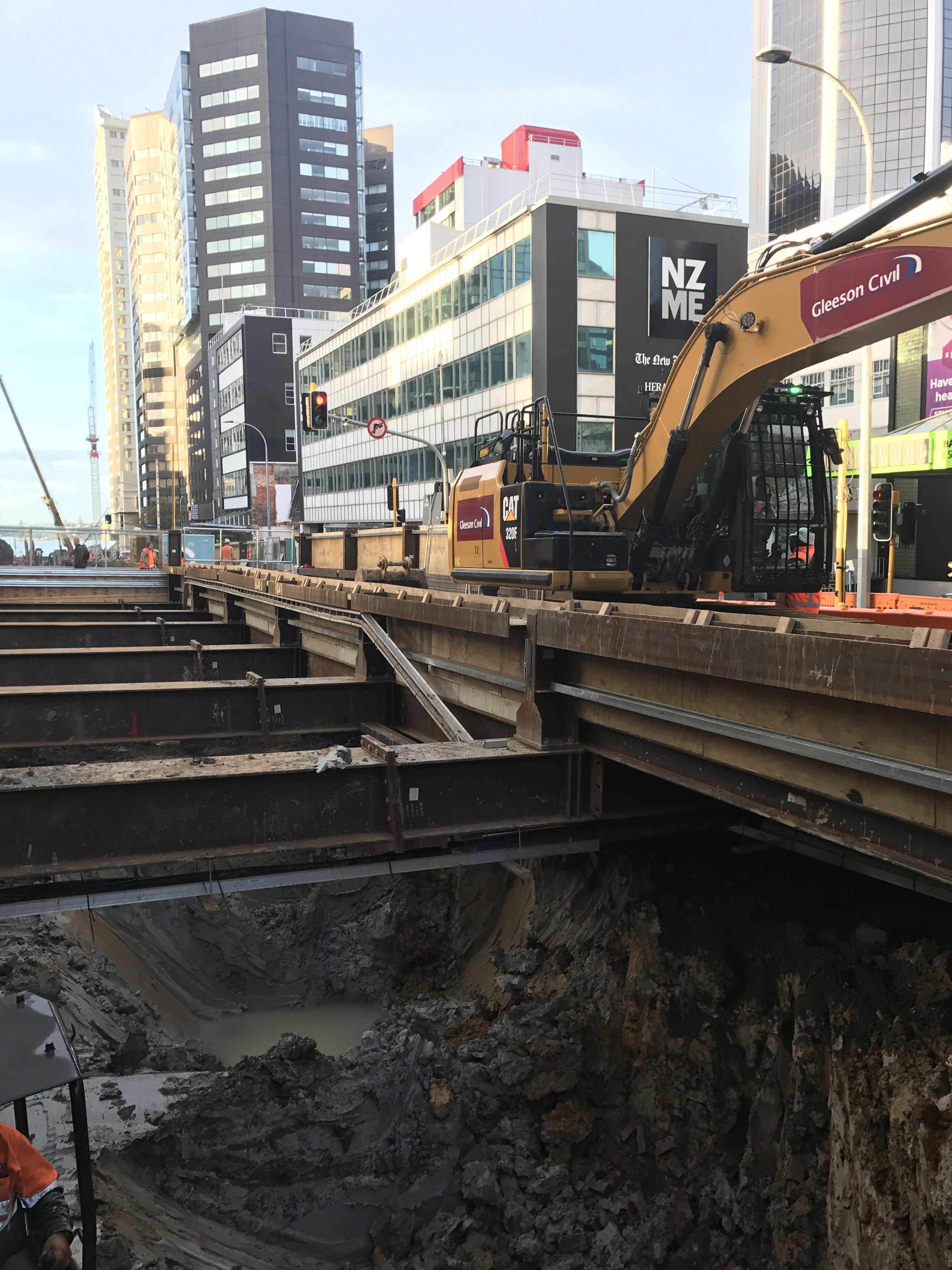 CRL construction Albert Street