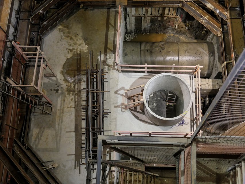 CRL shaft work
