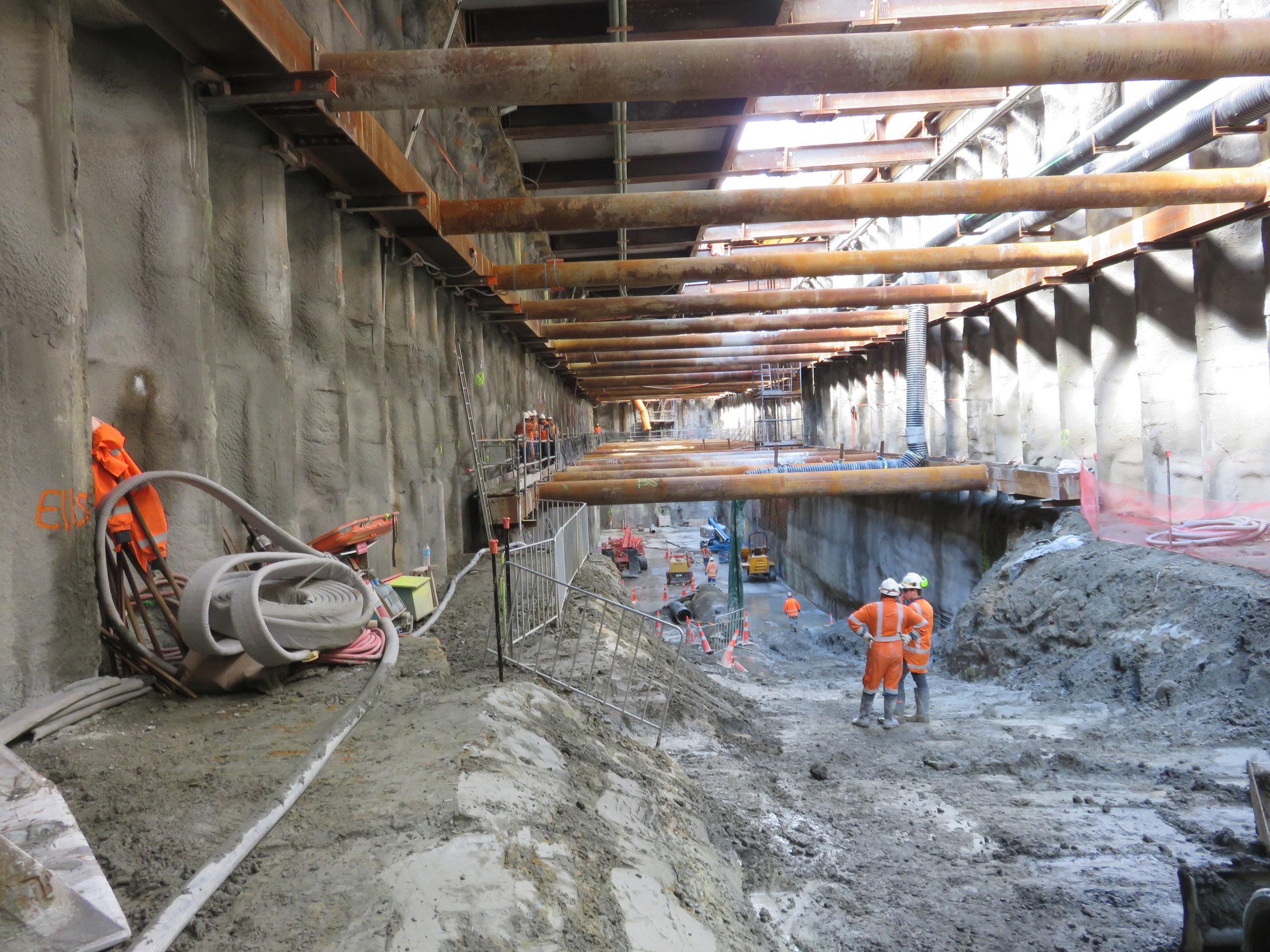 CRL construction Albert Street February 2018