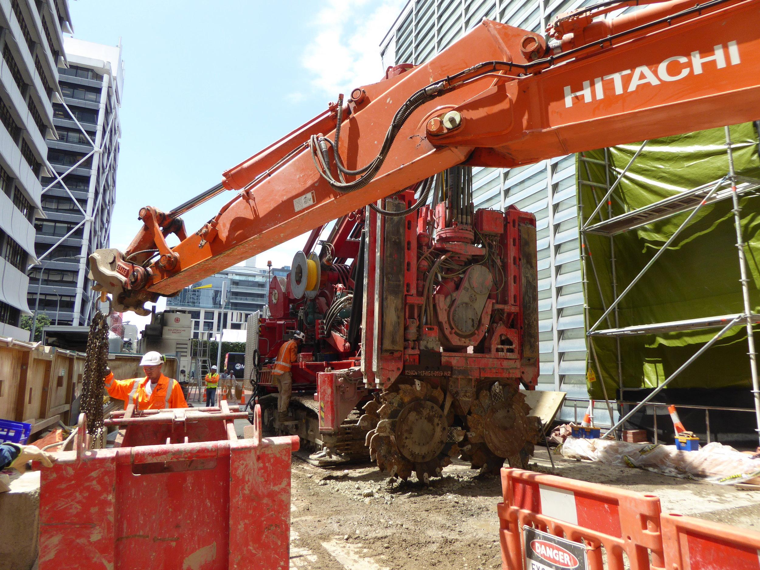 CRL construction Lower Queen Street February 2018