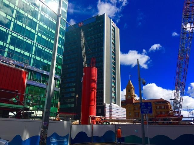 CRL construction Lower Queen Street