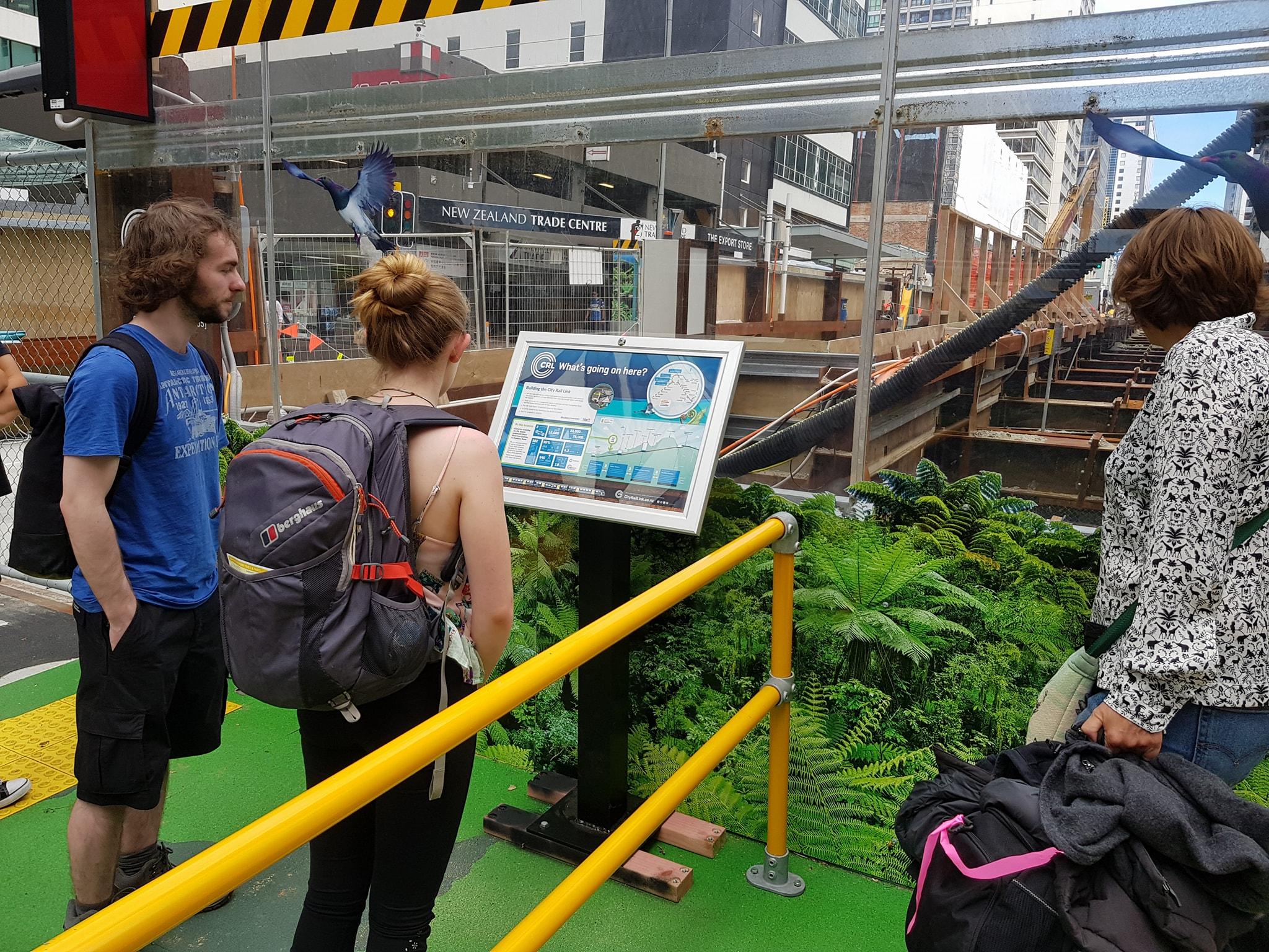 CRL viewing platform Albert Street