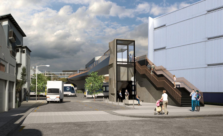 CRL's Mount Eden Station concept design