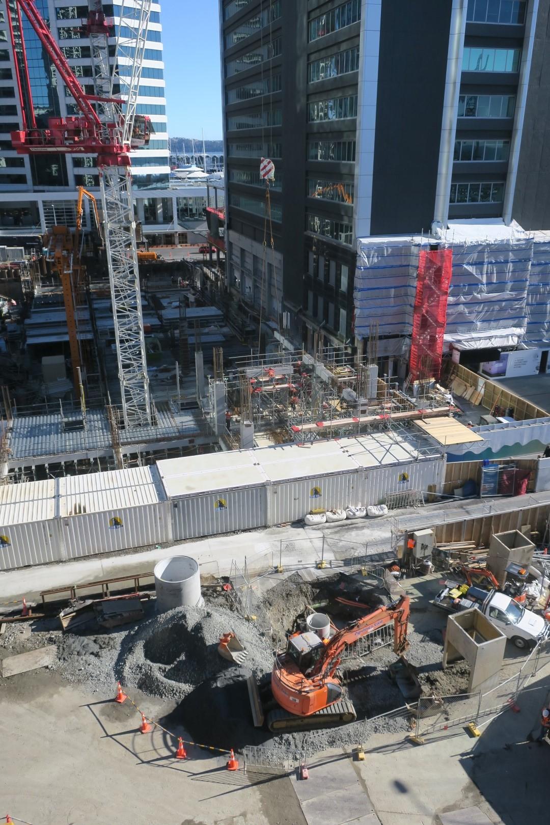 CRL construction in Lower Queen Street