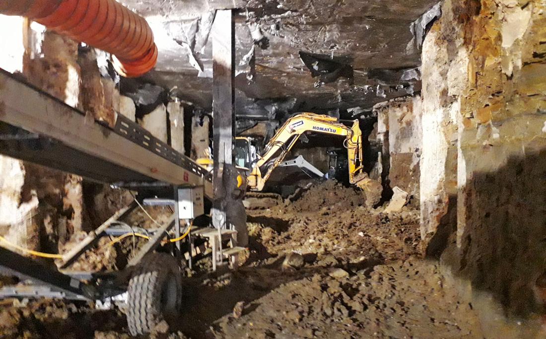 Customs St CRL tunnel excavation underway