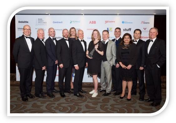 CRL team winners of award in the Deloitte Energy Excellence Awards 2018