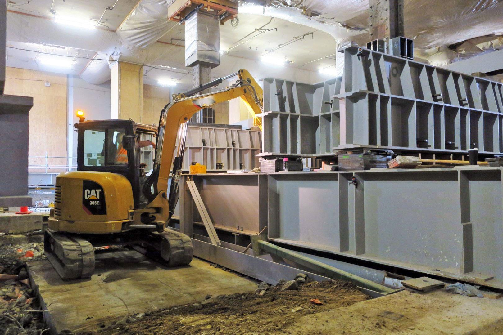Copy of Excavation of former Chief Post Office floor now underway