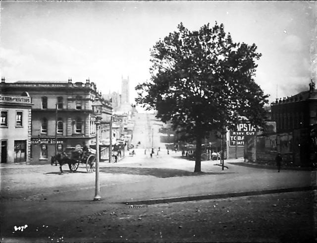 1905: Wellesley Street (Te Papa Collection C.010869)