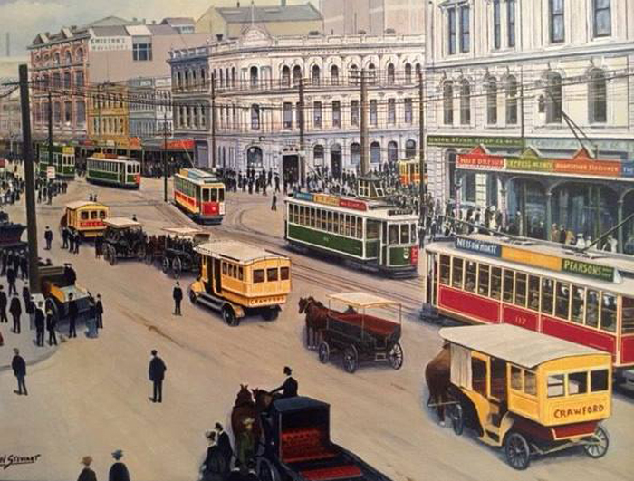 POPULAR: In 1939, Auckland's 72km tram network had more than 80 million passengers a year.