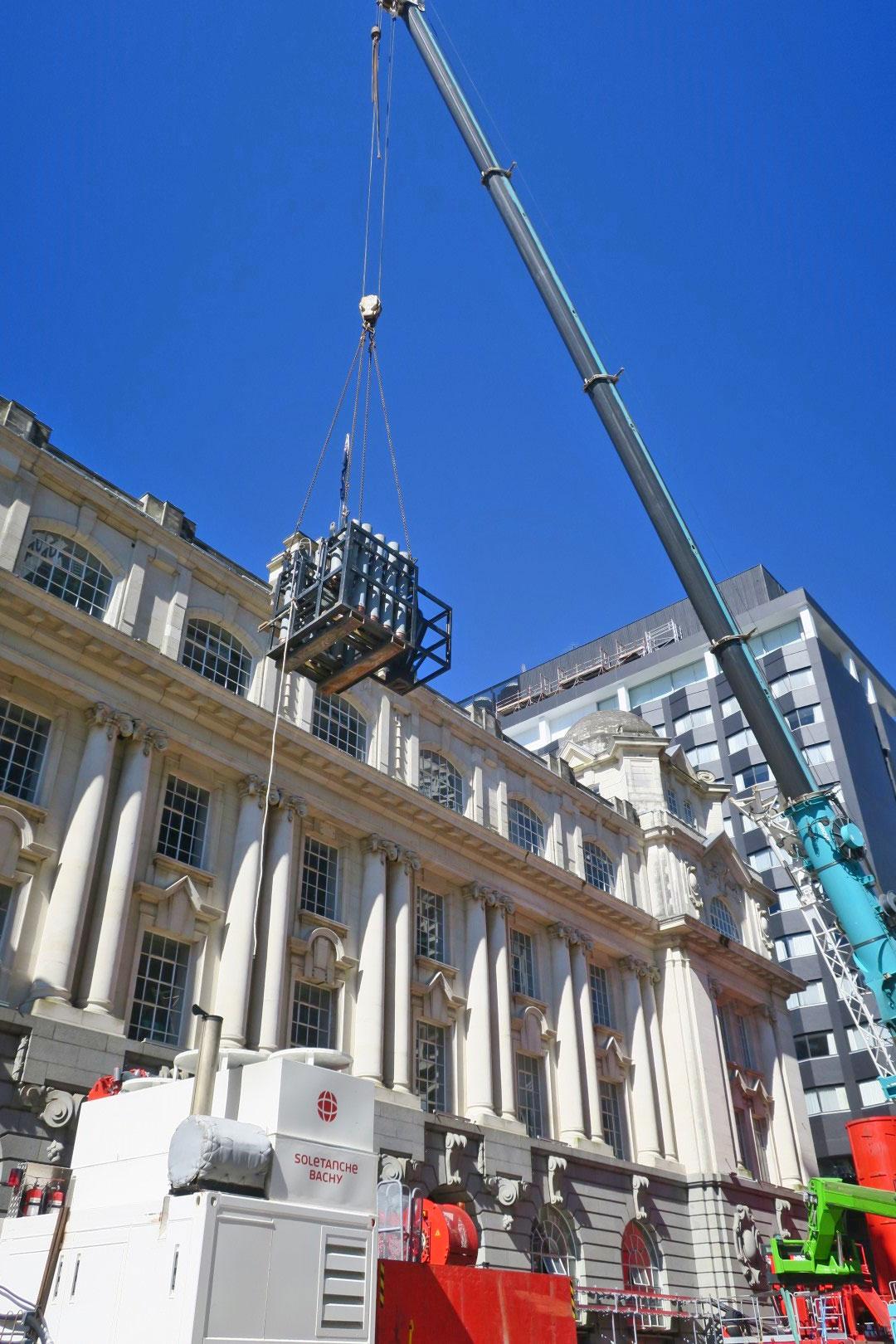 CRL construction Lower Queen Street August 2017