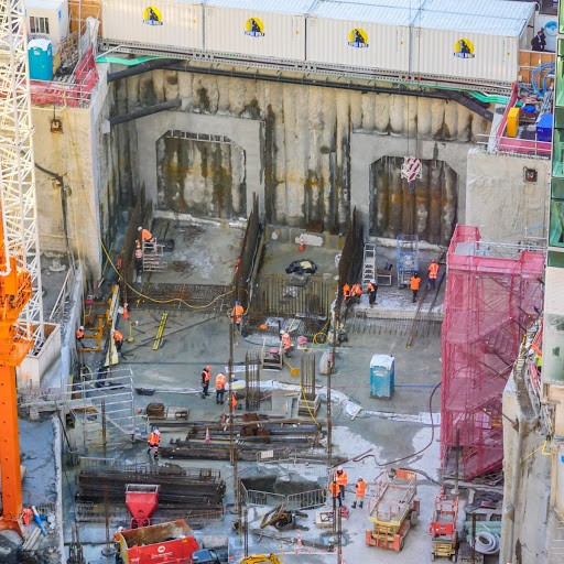 CRL tunnels construction begins in Commercial Bay August 2017